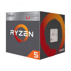 AMD Ryzen 5 2400G 3.6-3.9 Ghz 4 Core 6MB Cache AM4 Socket Processor with Vega 11 Graphics